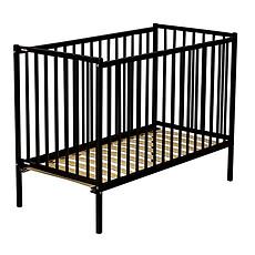 Achat Lit bébé Lit Bébé Rémi Noir - 70 x 140 cm