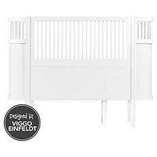Achat Lit bébé Lit Bébé Evolutif Sebra Bed Blanc - 70 x 110 cm