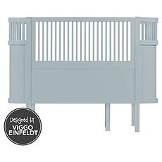 Achat Lit bébé Lit Bébé Evolutif Sebra Bed Bleu - 70 x 110 cm