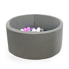 Achat Mes premiers jouets Piscine à Balles Grise 90 cm + Balles RPAT