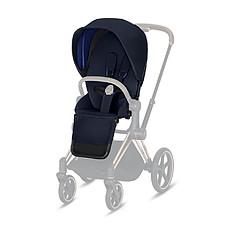 Achat Accessoires poussette Pack Siège Premium Priam - Indigo Blue