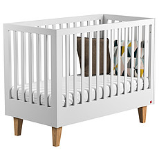 Achat Lit bébé Lit Bébé Evolutif Lounge 70 x 140 cm - Blanc