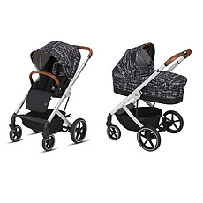 Achat Poussette combinée Poussette Duo Balios S et Nacelle S Values For Life - Strength