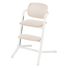 Achat Chaise haute Chaise Haute Lemo Bois - Porcelaine White