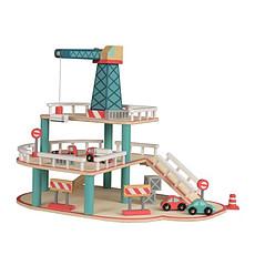 Achat Mes premiers jouets Garage en Bois avec Grue
