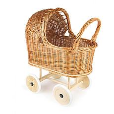 Achat Mes premiers jouets Landau Osier Roues en Caoutchouc et Garniture