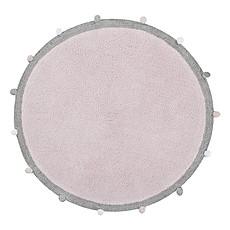 Achat Tapis Tapis Lavable Bubbly Rose - Ø 120 cm