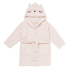 Achat Textile Peignoir Lily Cat Solid Sweet Rose - 1/2 Ans