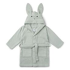 Achat Linge & Sortie de bain Peignoir Lily Rabbit Dusty Mint - 1/2 Ans