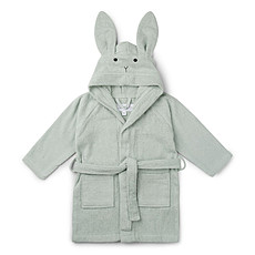 Achat Textile Peignoir Lily Rabbit Dusty Mint - 3/4 Ans