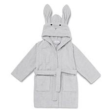 Achat Linge & Sortie de bain Peignoir Lily Rabbit Solid Dumbo Grey - 3/4 Ans