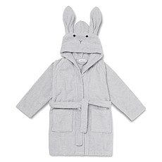 Achat Textile Peignoir Lily Rabbit Solid Dumbo Grey - 3/4 Ans