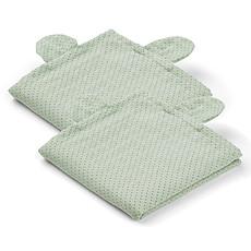Achat Textile Lot de 2 Langes Hannah Mr Bear - Little Dot & Dusty Mint