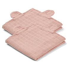 Achat Textile Lot de 2 Langes Hannah Mr Bear - Little Dot & Rose