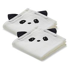 Achat Lange Lot de 2 Langes Hannah Panda - Crème de la Crème