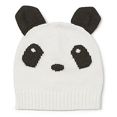 Achat Accessoires bébé Bonnet Viggo Panda Crème de la Crème - 9/12 Mois