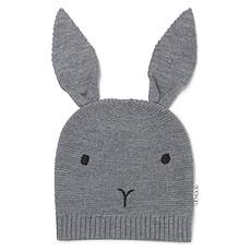 Achat Accessoires Bébé Bonnet Viggo Rabbit Grey Melange - 1/2 Ans