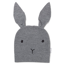 Achat Vêtement layette Bonnet Viggo Rabbit - Grey Melange