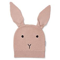 Achat Accessoires Bébé Bonnet Viggo Rabbit Rose - 0/6 Mois