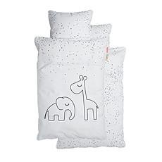 Achat Linge de lit Parure Dreamy Dots Blanc - 100 x 140 cm