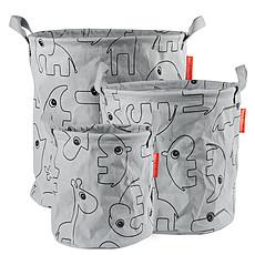 Achat Panier & corbeille Pack de 3 Paniers de Rangement Contour - Gris