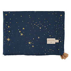 Achat Linge de lit Couverture d'Eté Treasure - Gold Stella & Night Blue