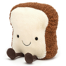 Achat Peluche Peluche Amuseable Toast - Medium
