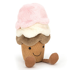 Achat Peluche Peluche Amuseable Ice Cream - Huge