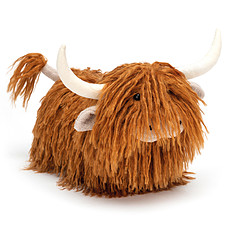 Achat Peluche Charming Highland Cow