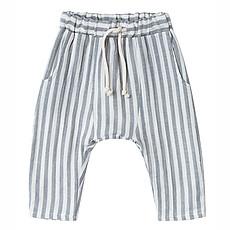 Achat Bas bébé Pantalon à Rayures - Gris - 3/6 Mois