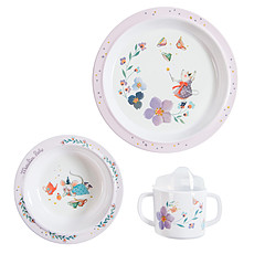 Achat Coffret repas Set Vaisselle 3 Pièces - Il Etait Une Fois