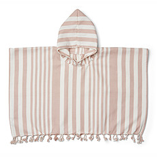 Achat Textile Poncho Roomie Rose - 3/4 Ans