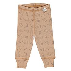 Achat Vêtement layette Leggings Basilic - Indian Tan et Motifs