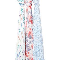 Achat Lange Coffret de 3 Maxi-Langes Silky Soft - Watercolour Garden