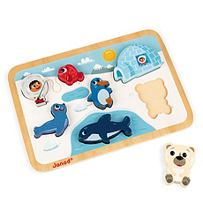 Achat Mes premiers jouets Chunky Puzzle Arctique