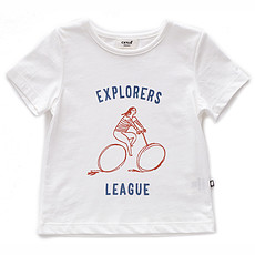 Achat Hauts bébé T-Shirt Explorer - Blanc - 12 Mois