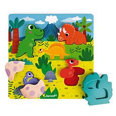Achat Mes premiers jouets Puzzle Cache-Cache Dino