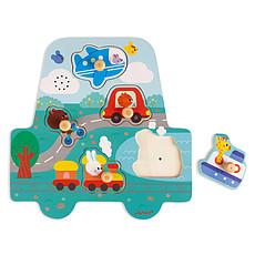 Achat Mes premiers jouets Puzzle Musical Les Petits Bolides