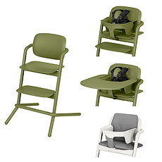 Achat Chaise haute Chaise Haute Lemo Complète - Outback Green
