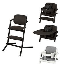 Achat Chaise haute Chaise Haute Lemo Bois Complète - Infinity Black
