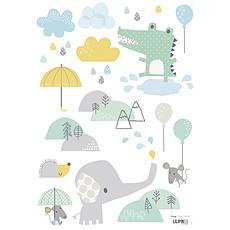 Achat Sticker Planche de Stickers - Bébé Eléphant