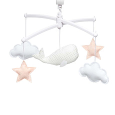Achat Mobile Mobile Baleine - Blanc / Nude