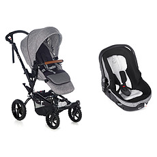 Achat Poussette combinée Poussette Duo Crosswalk-R et Matrix Light 2 - Squared