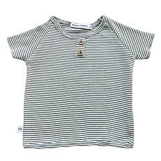 Achat Haut bébé Tee-Shirt Milleraies Vert - 9/12 Mois