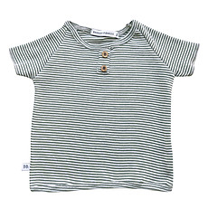 Achat Haut bébé Tee-Shirt Milleraies Vert - 6 Mois