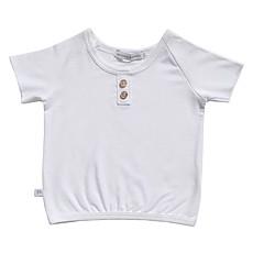 Achat Haut bébé Tee-Shirt Blanc - 6 Mois