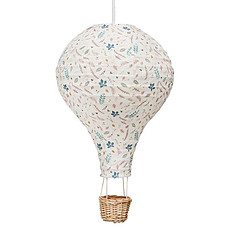 Achat Suspension  décorative Lampe Montgolfière - Pressed Leaves Rose