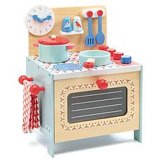 Achat Mes premiers jouets Cuisinière Bleue