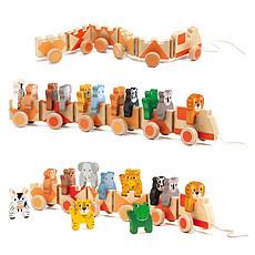 Achat Mes premiers jouets Jouet à Tirer Trainimo Jungle