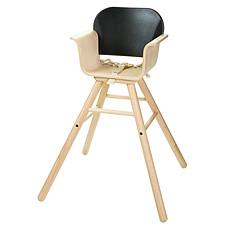 Achat Chaise haute Chaise Haute Ajustable - Noire